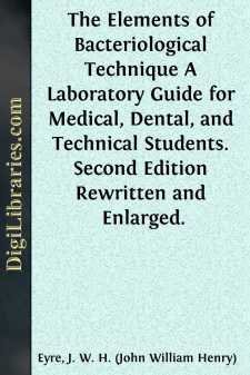 The Elements of Bacteriological Technique