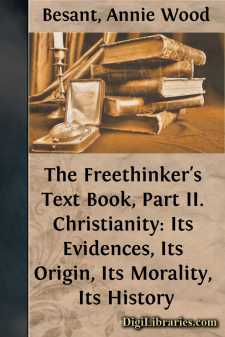 The Freethinker's Text Book, Part II.
