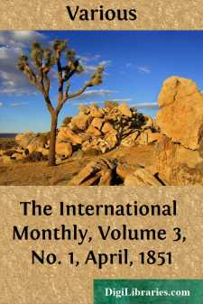 The International Monthly, Volume 3, No. 1, April, 1851