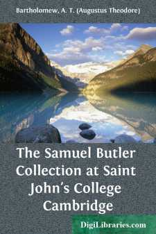 The Samuel Butler Collection at Saint John's College Cambridge