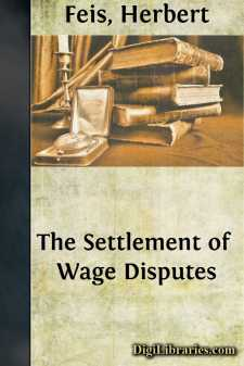The Settlement of Wage Disputes