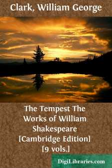 The Tempest The Works of William Shakespeare [Cambridge Edition] [9 vols.]