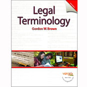 VangoNotes for Legal Terminology, 5/e audiobook download