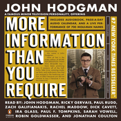 More Information Than You Require (Unabridged) audiobook download
