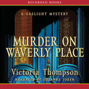 Murder on Waverly Place: A Gaslight Mystery (Unabridged) audiobook download