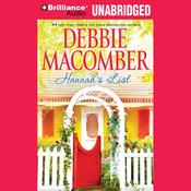 Hannah's List: A Blossom Street Book, #6 (Unabridged) audiobook download