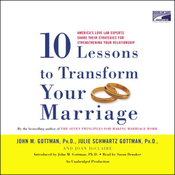 Ten Lessons to Transform Your Marriage (Unabridged) audiobook download