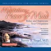Meditations for Peace of Mind: Relax and Appreciate Your Uniqueness audiobook download