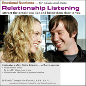Relationship Listening: Attract the People You Like and Bring Them Close to You (Unabridged) audiobook download