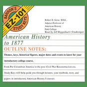 American History to 1877: Barron's EZ-101 Study Keys (Unabridged) audiobook download