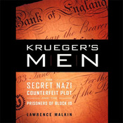 Krueger's Men: The Secret Nazi Counterfeit Plot and the Prisoners of Block 19 (Unabridged) audiobook download