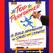Top Performer: A Bold Approach to Sales and Service audiobook download