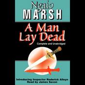 A Man Lay Dead (Unabridged) audiobook download