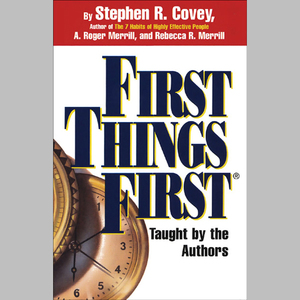 First-things-first-audiobook