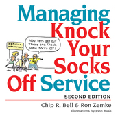 Managing Knock Your Socks Off Service (Unabridged) audiobook download
