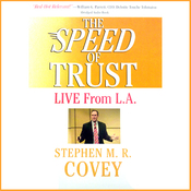 The Speed of Trust: Live from L.A. (Unabridged) audiobook download