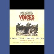 From Ypres to Gallipoli: Forgotten Voices of the Great War audiobook download