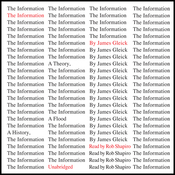 The Information: A History, a Theory, a Flood (Unabridged) audiobook download