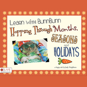 Learn with BunnBunn: Hopping Through Months, Seasons and Holidays (Unabridged) audiobook download