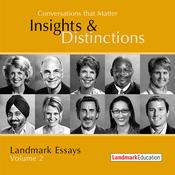 Conversations That Matter: Insights & Distinctions - Landmark Essays, Volume 2 (Unabridged) audiobook download