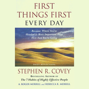 First Things First Every Day audiobook download