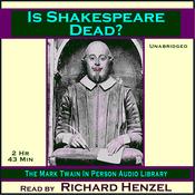 Is Shakespeare Dead? (Unabridged) audiobook download