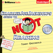 Charlie Joe Jackson's Guide to Not Reading (Unabridged) audiobook download