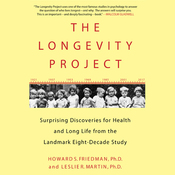 The Longevity Project: Surprising Discoveries for Health and Long Life from the Landmark Eight-Decade Study (Unabridged) audiobook download