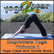 Improvers Yoga, Volume 1: Yoga Class and Guide Book (Unabridged) audiobook download