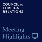 CFR Meeting Highlights show