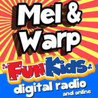 Mel and Warp from Fun Kids Radio show