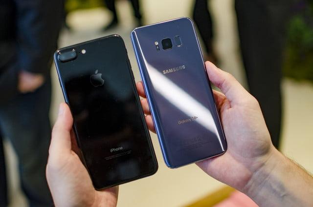 Cual es mejor el Samsung Galaxy S8 Plus o el Apple iPhone ...