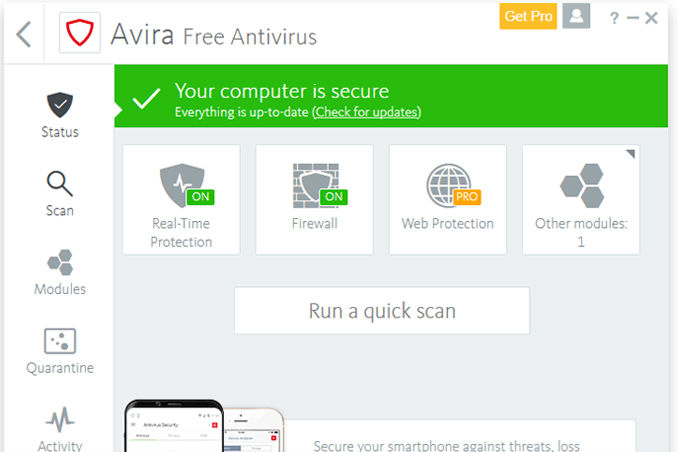 best antivirus cnet 2018