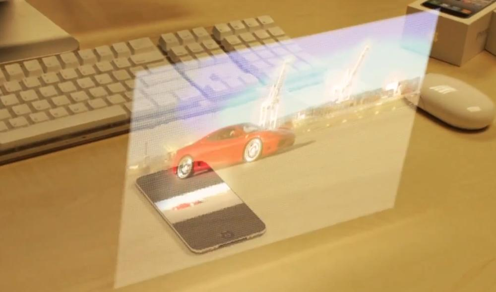 Ostendo Creates 3d Holographic Projector For Smartphones