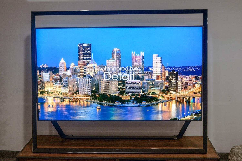 tv 85 inch. samsung un85s9 85 inch 4k ultra hd front tv f