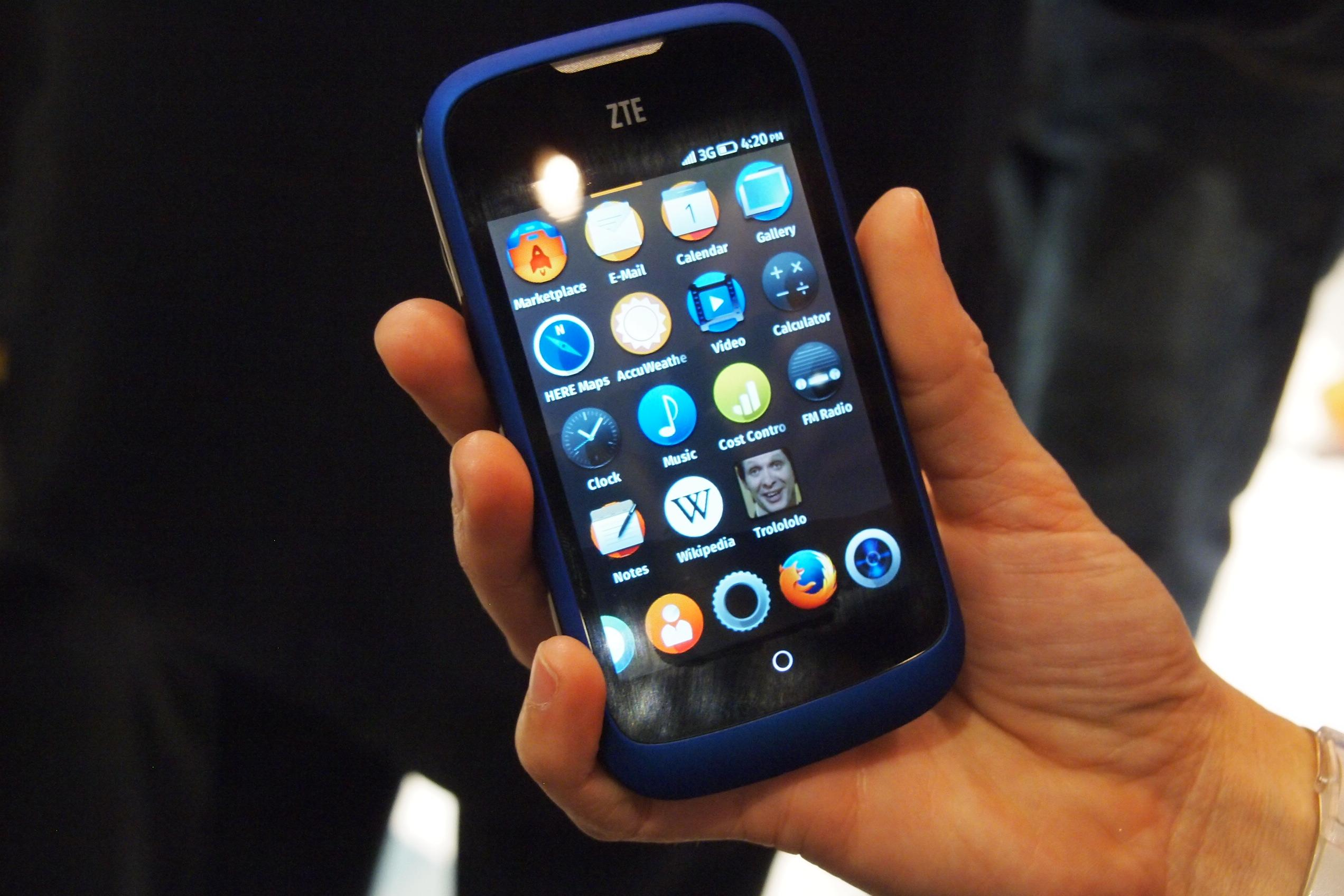 firefox os 1 1 update announced digital trends. Black Bedroom Furniture Sets. Home Design Ideas