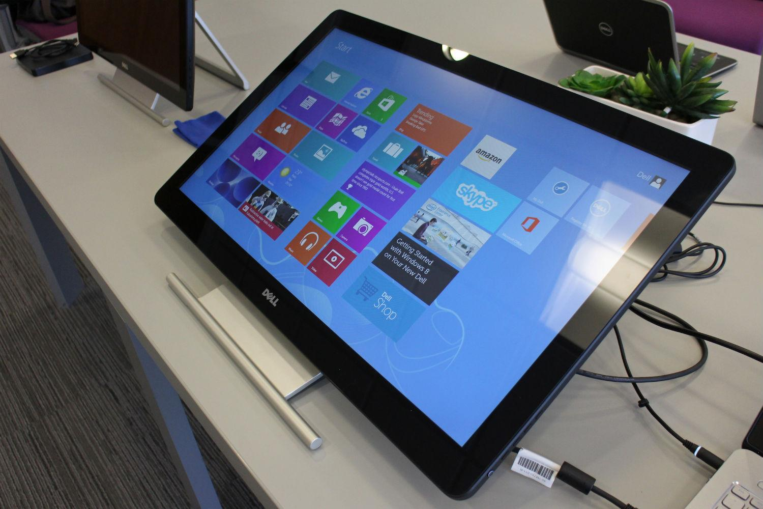 Dell Announces Flexible New Windows 8 Touchscreen Monitors