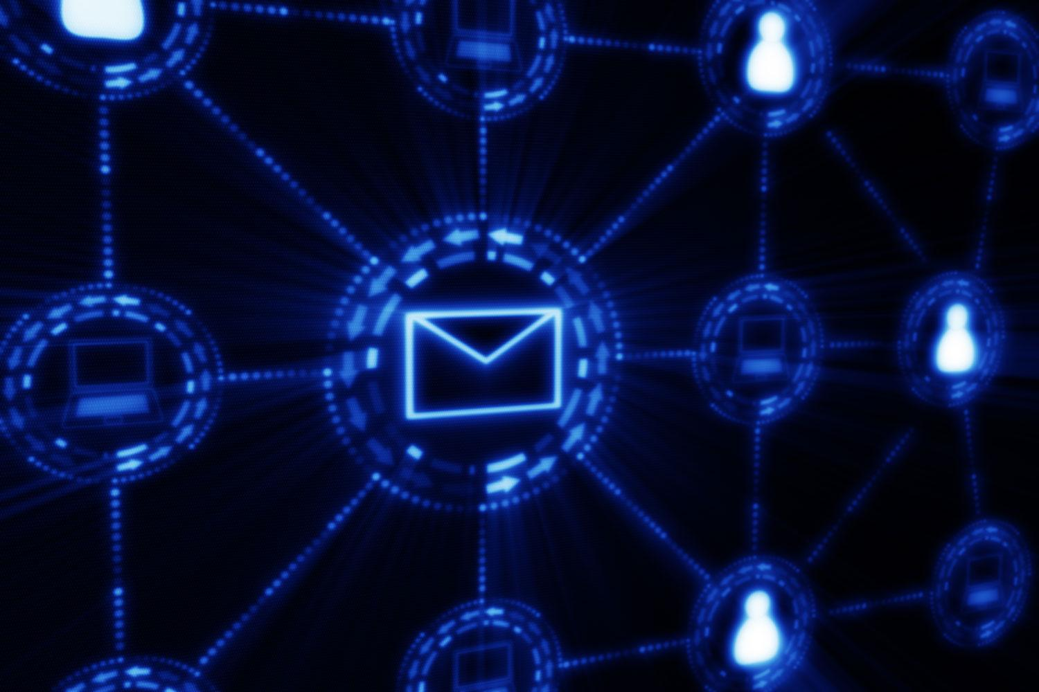how to close a networking email
