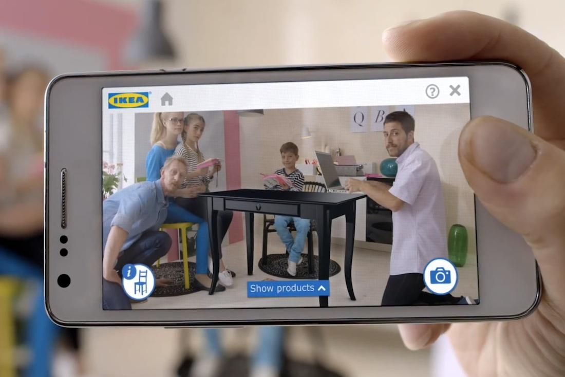 ikea 39 s new ar app superimposes furniture into your empty. Black Bedroom Furniture Sets. Home Design Ideas