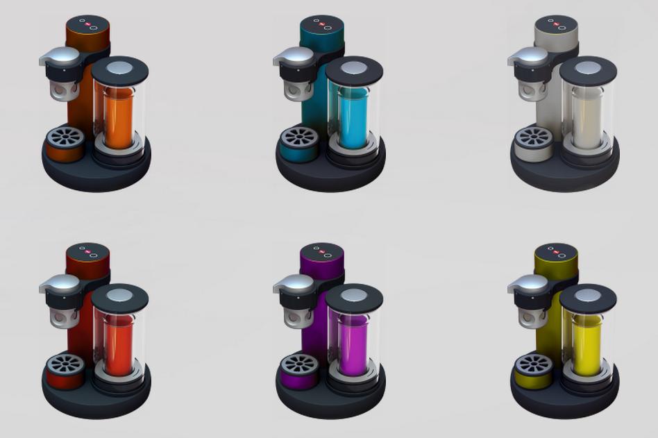 Small Espresso Maker ~ Kiss espresso machine is made for the ultimate minimalist