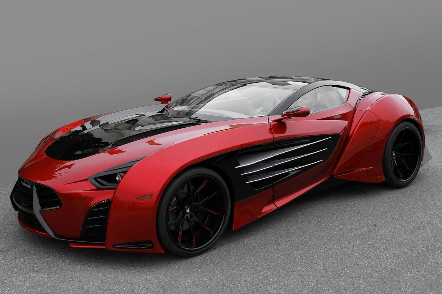 The Laraki Epitome Concept Car Looks Like The Result Of A