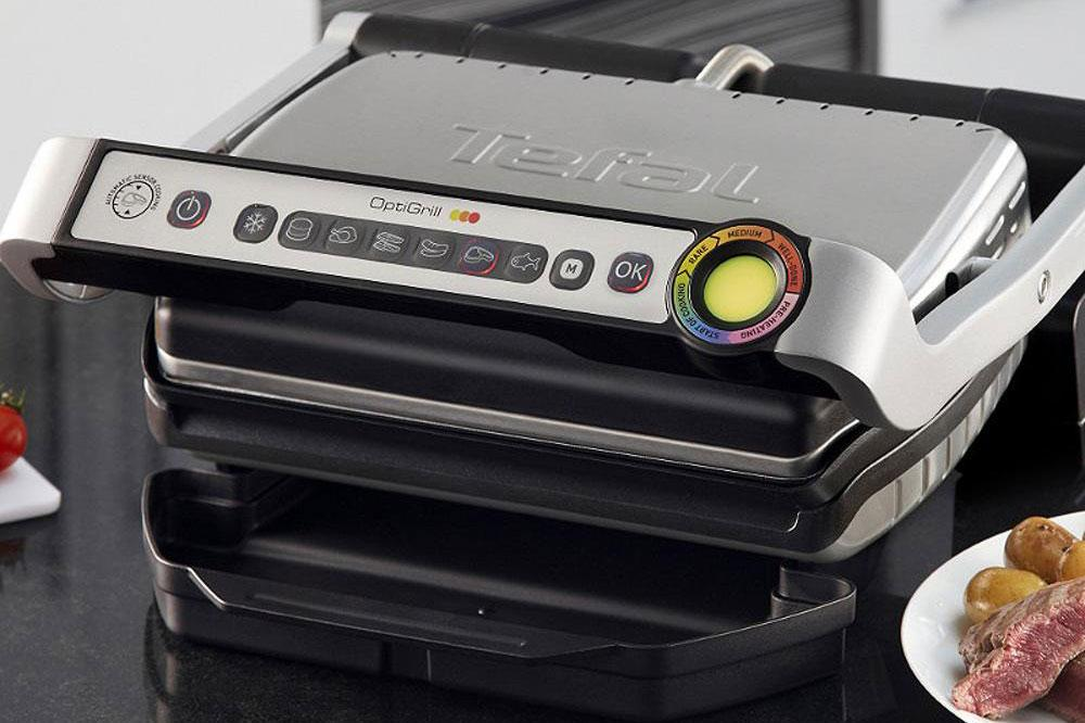 Optigrill From T Fal Is Like A George Foreman Grill But
