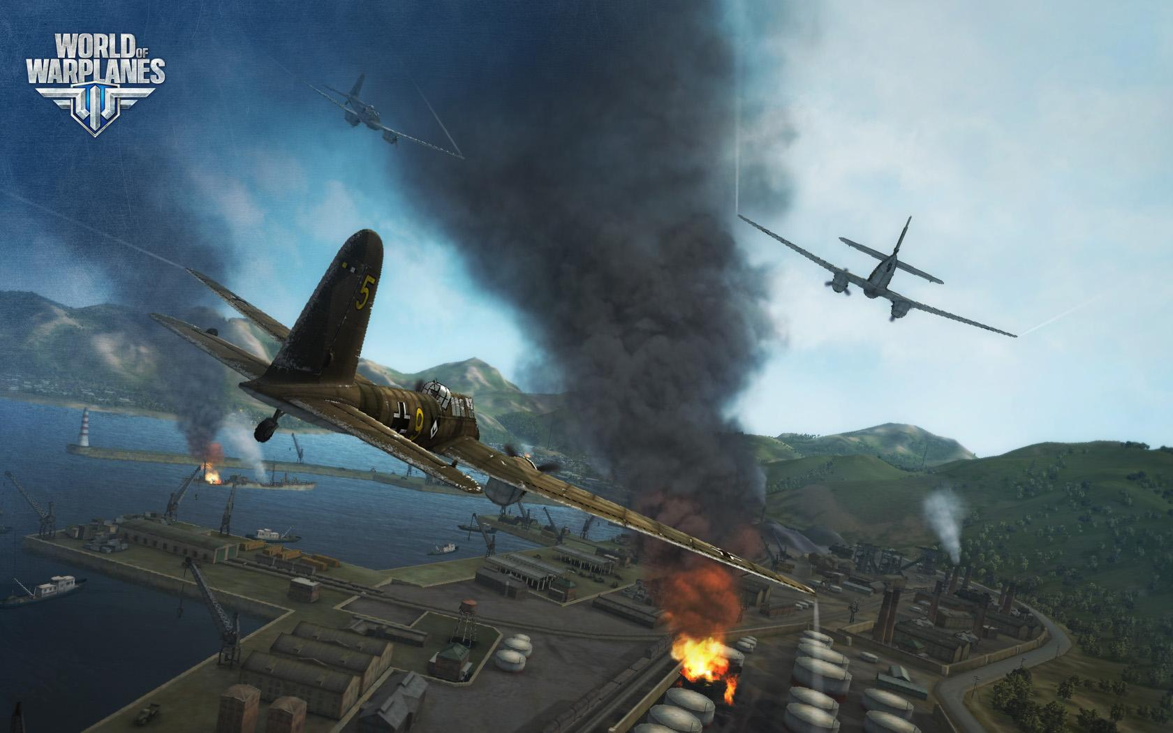 World Of Warplanes Hands On Wargaming Takes To The