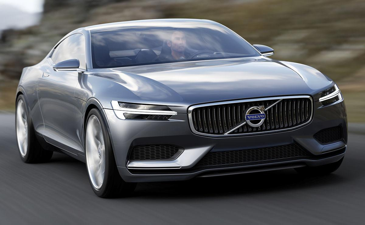 Volvo Unveils New Concept Coupe At Frankfurt Motor Show