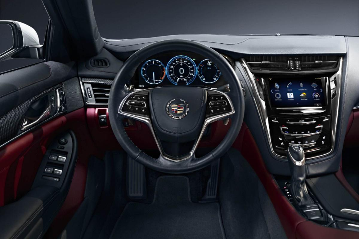 2014 Cadillac CTS pumps engine sound into the cabin using the