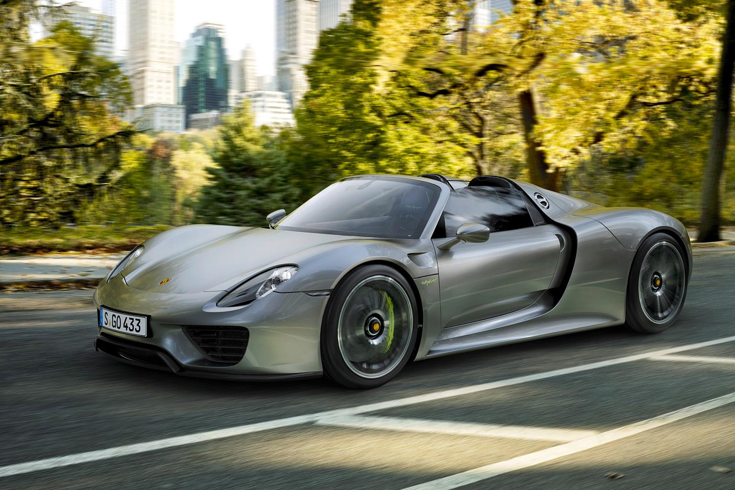 porsche 39 s 918 spyder goes 0 60 mph in 2 5 seconds digital trends. Black Bedroom Furniture Sets. Home Design Ideas
