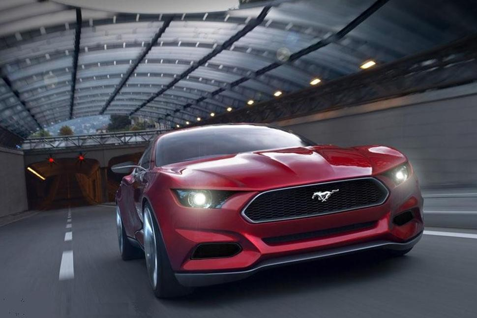 New 2015 Mustang Could Be Most High Tech Car In Segment Mustang32970