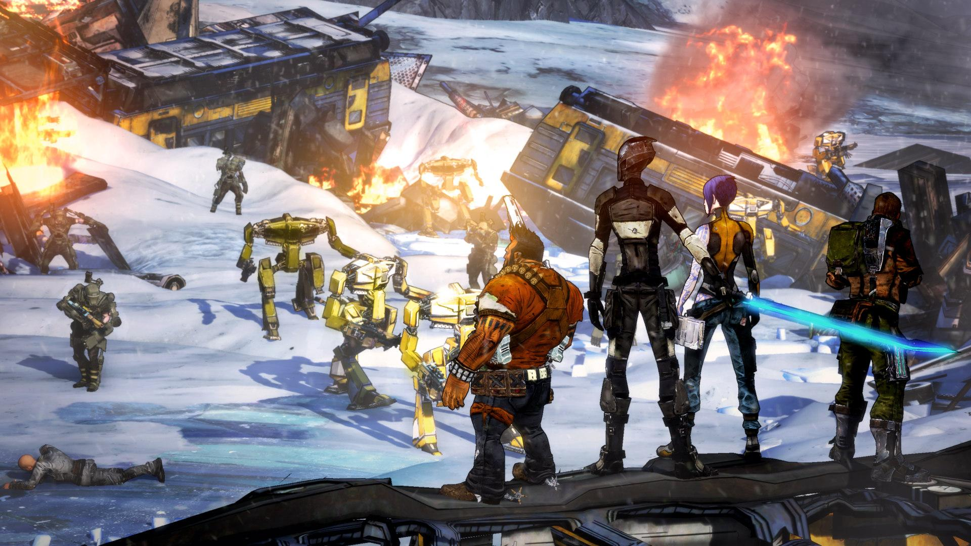 Randy Pitchford chats about the second round of ... Borderlands 2