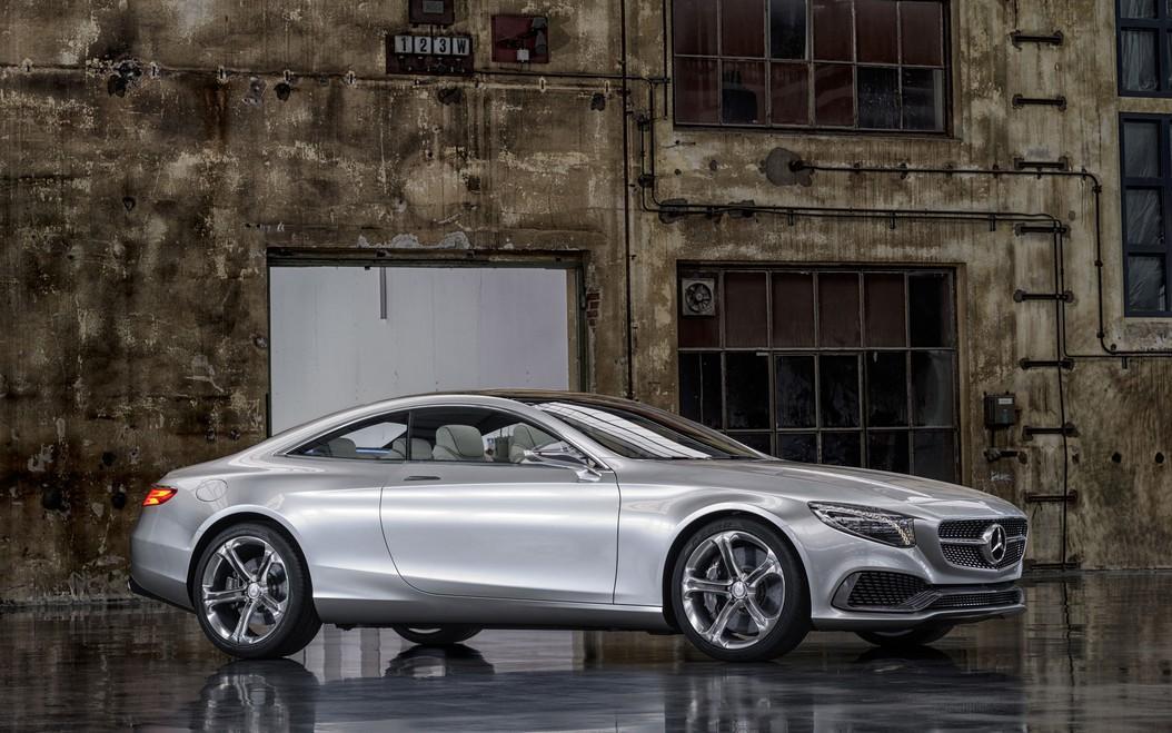 Mercedes benz unveils new concept s class at 2013 for New concept mercedes benz
