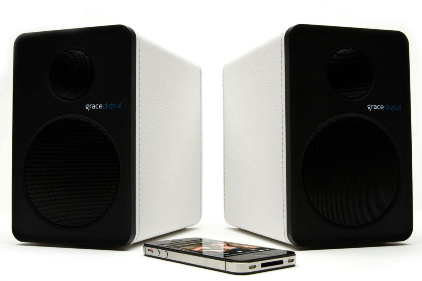 Grace Digital Moves Indoors With Its New Wireless Bookshelf Speakers Digita